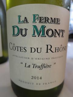 La Ferme Du Mont La Truffière 2014 - AC Côtes du Rhône, France (88+ pts)