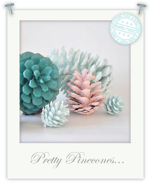 Pretty Pinecones by Torie Jayne