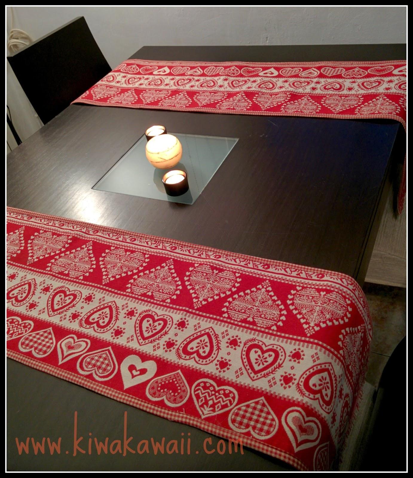Tutorial camino de mesa navide o kiwa kawaii for Como hacer caminos de mesa modernos