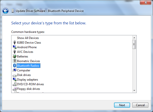 Driver Bluetooth Peripheral Device, Bluetooth Error, Install Driver Bluetooth Peripheral Device
