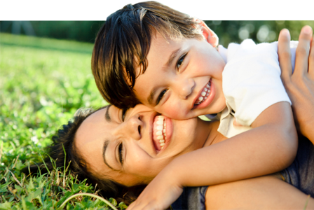 anak dan orang tua saling membutuhkan