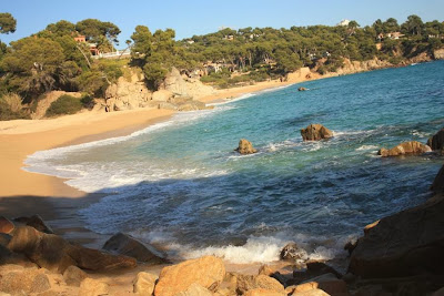 Can Cristos beach in Sant Antoni de Calonge