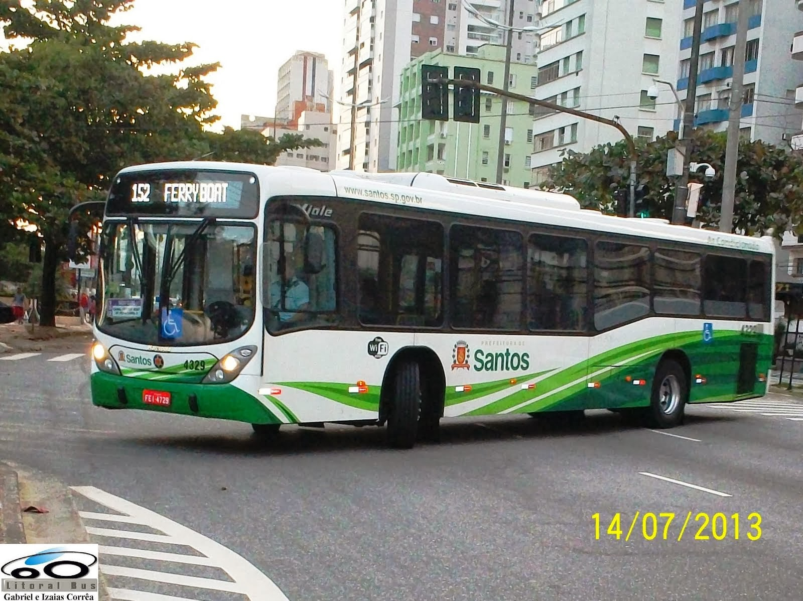 Piracicabana Santos - Marcopolo Viale - 2013