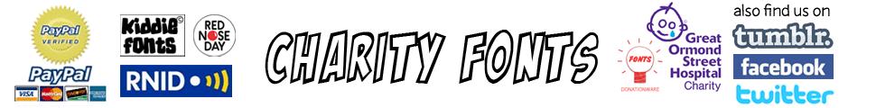 Charity Fonts
