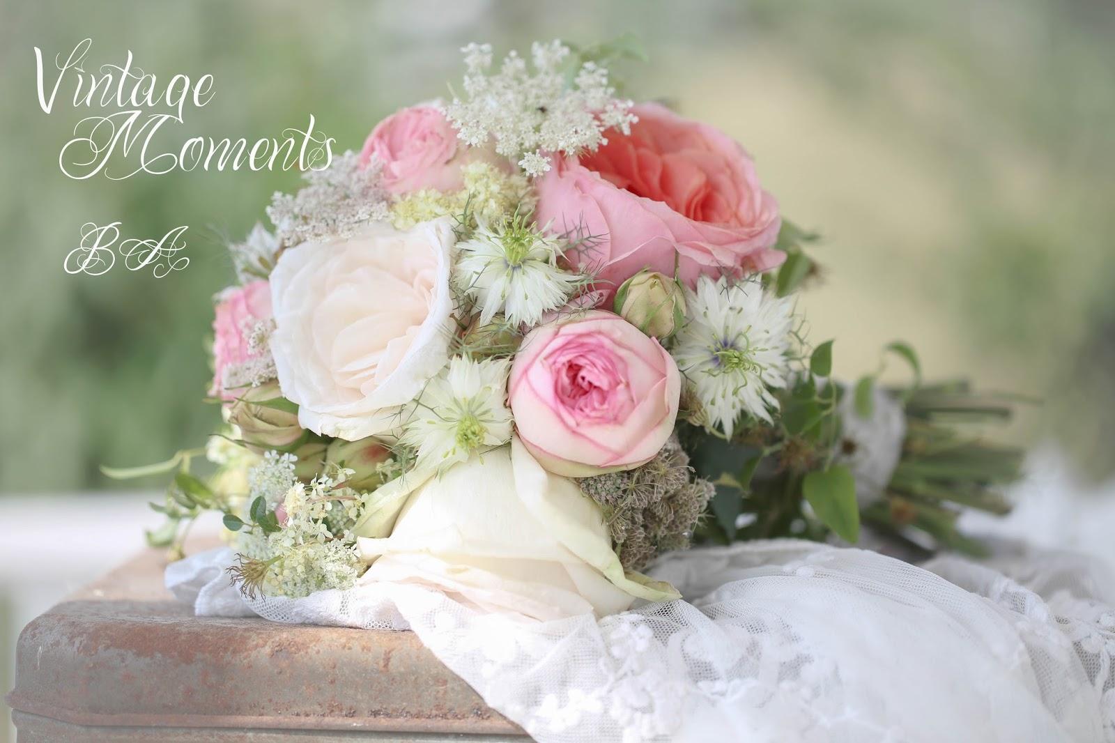 Vintage Moments Vintage Hochzeit Wedding Brautstrauss