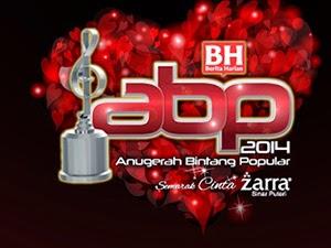 Thumbnail image for Keputusan Penuh Anugerah Bintang Popular Berita Harian (ABPBH 2014)