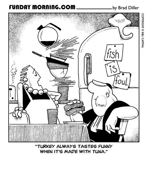 Bad Taste Bud Funday Morning Cartoons And Comic Strips By Brad Diller