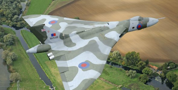 Vulcan XH558 credit Jamie Hunter