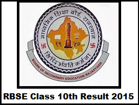 RBSE Senior Secondary (Science & Commerce) Examination Result 2015 | Rajasthan Board 12th Exam Result 2015