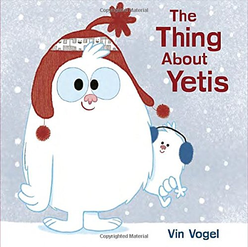 The Thing About Yetis Book for Preschooler with Companion Craft