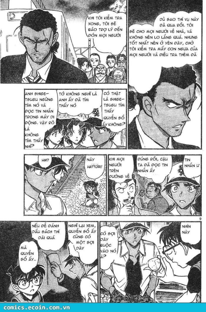 Detective Conan - Thám Tử Lừng Danh Conan chap 617 page 9 - IZTruyenTranh.com