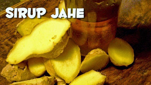 Resep Sirup Jahe Praktis