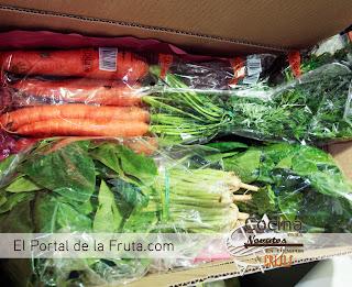 zanahorias El portal de la fruta.com