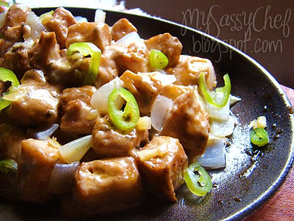 Sizzling pork chinese recipe