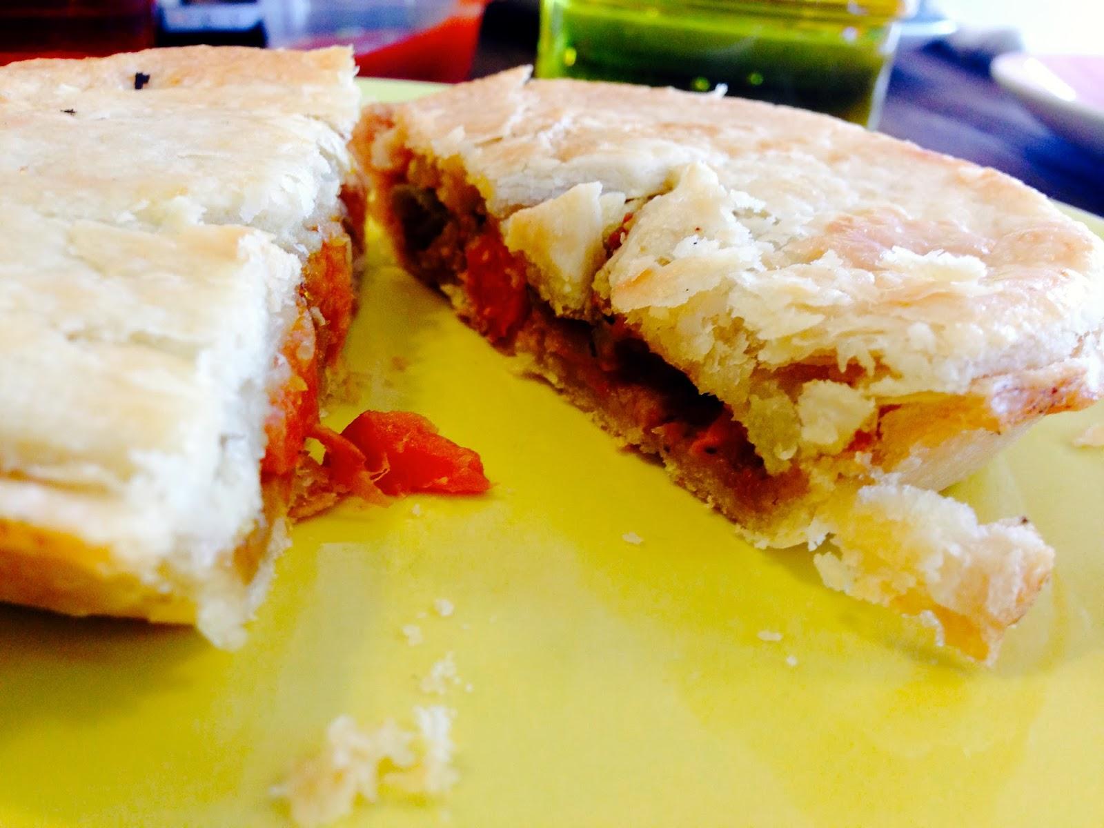 Satay Pie - Cherry Darlings Cruelty Free Bakehouse, Adelaide