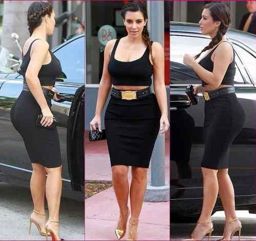 b2da4417db590 2- sin embargo si tu tipo de piernas largas y caderas estrechas tu falda  predilecta serian la falda tipo lápiz pero un poco anchas