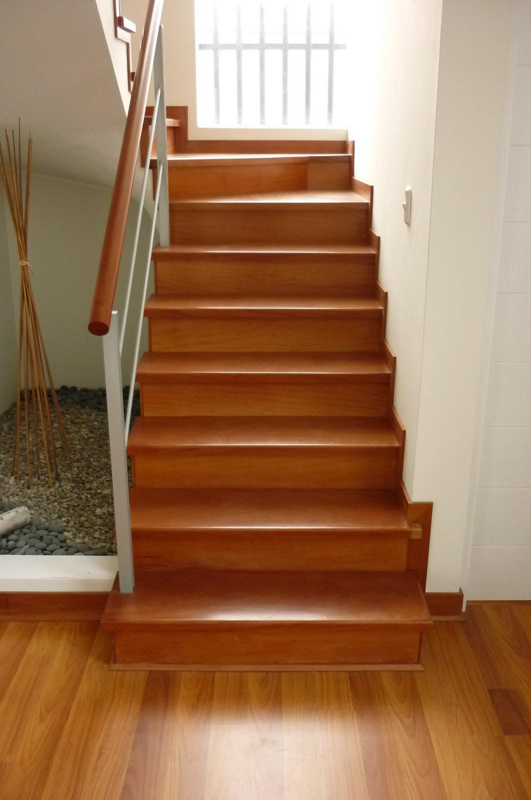 Madera para escalones perfect escaleras with madera para - Escaleras de casas ...