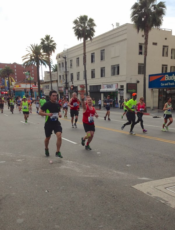 Running the LA Marathon 2014