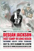 DeSean Jackson Fast Camp!