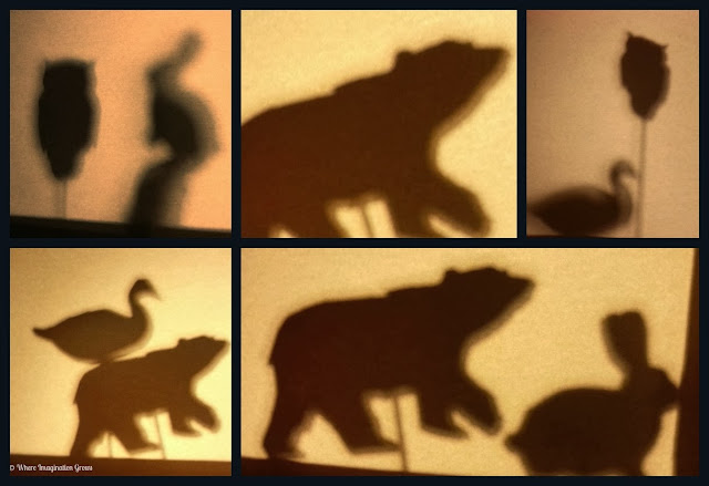 Shadow Puppets Animals DIY