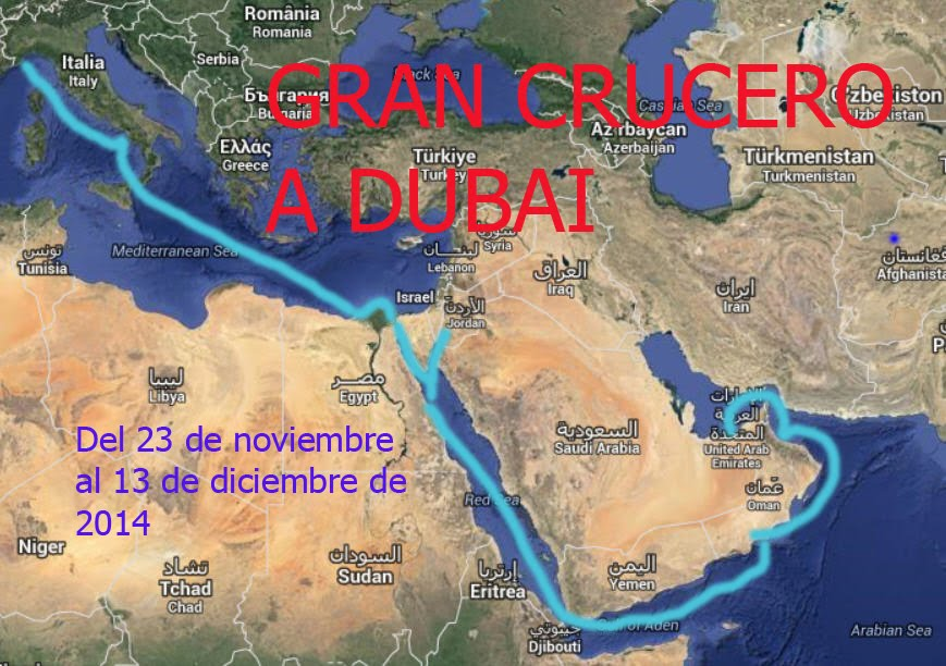 GRAN CRUCERO A DUBAI