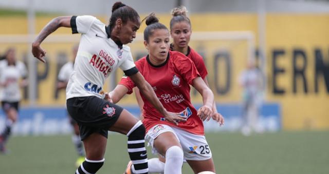 Corinthians Audax empata com ADECO pelo Brasileirão de Futebol Feminino
