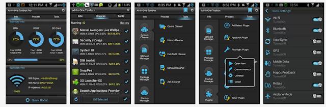 تطبيق مجانى للاندرويد يحتوى على اكثر من 21 أداة مجانية لتحسين وصيانة وإدارة وتسريع جهازك