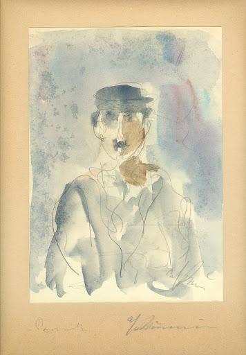 Bouzianis Giorgos Γιώργος Μπουζιάνης (1885-1959) (Athens, a major Greek painter