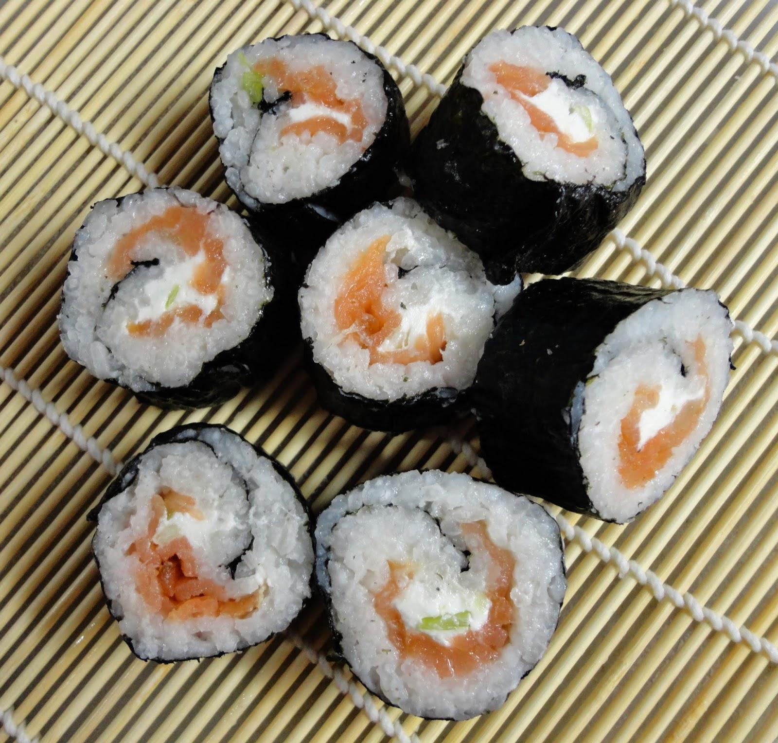 cream cheese sushi