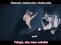 Babymetal - Give me chocolate romaji terjemahan indonesia[MP4]