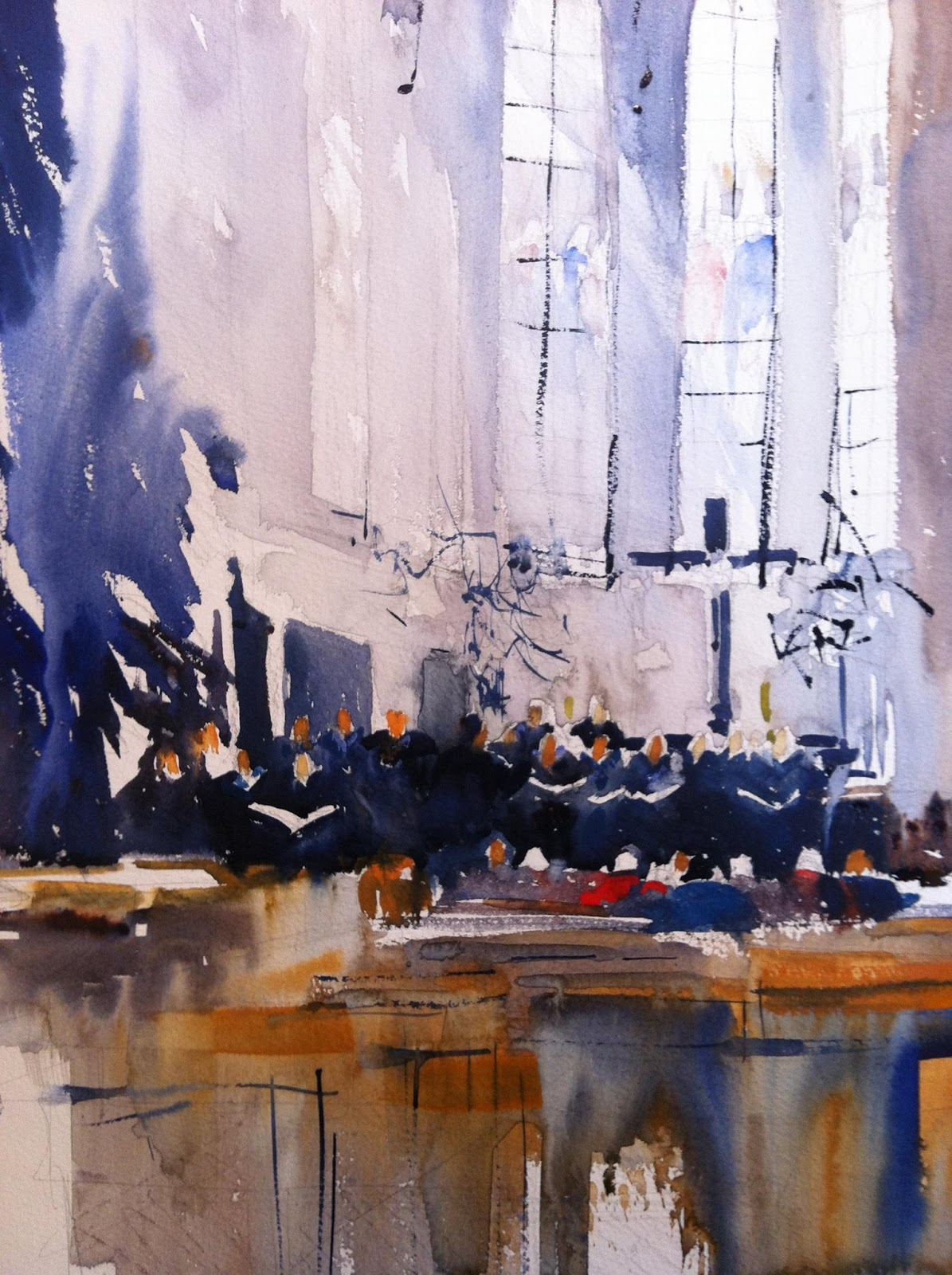 Renew watercolor artist magazine - Gerda Mentens