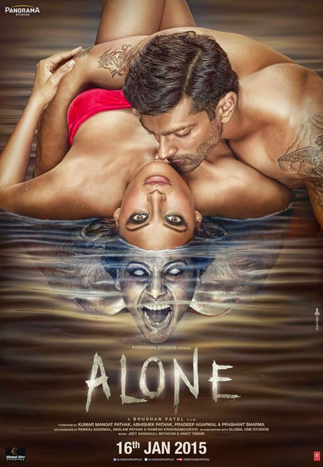 New poster of upcoming Bollywood Movie Alone