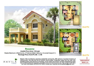 Mission Hills Antipolo | House Model Roxanne