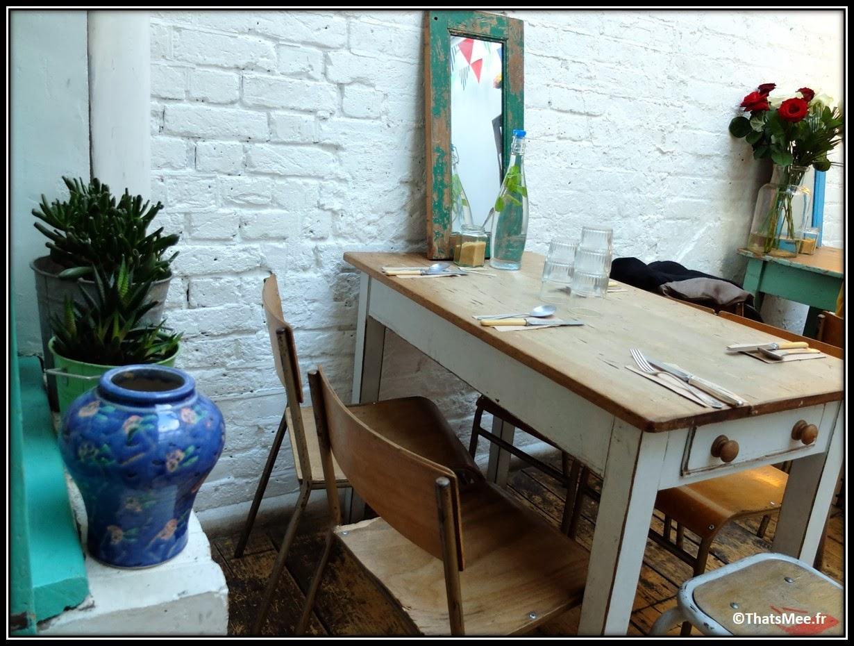 Coffee Shop Maison d'Etre East London Shoreditch Brick Lane Highbury and Islington, bonnes adresses coffeeshop Londres