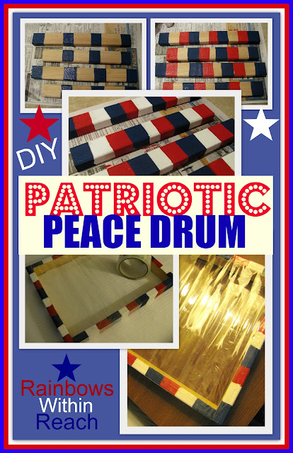 photo of: Patriotic Peace Drum: DIY Tuesday Tutorial