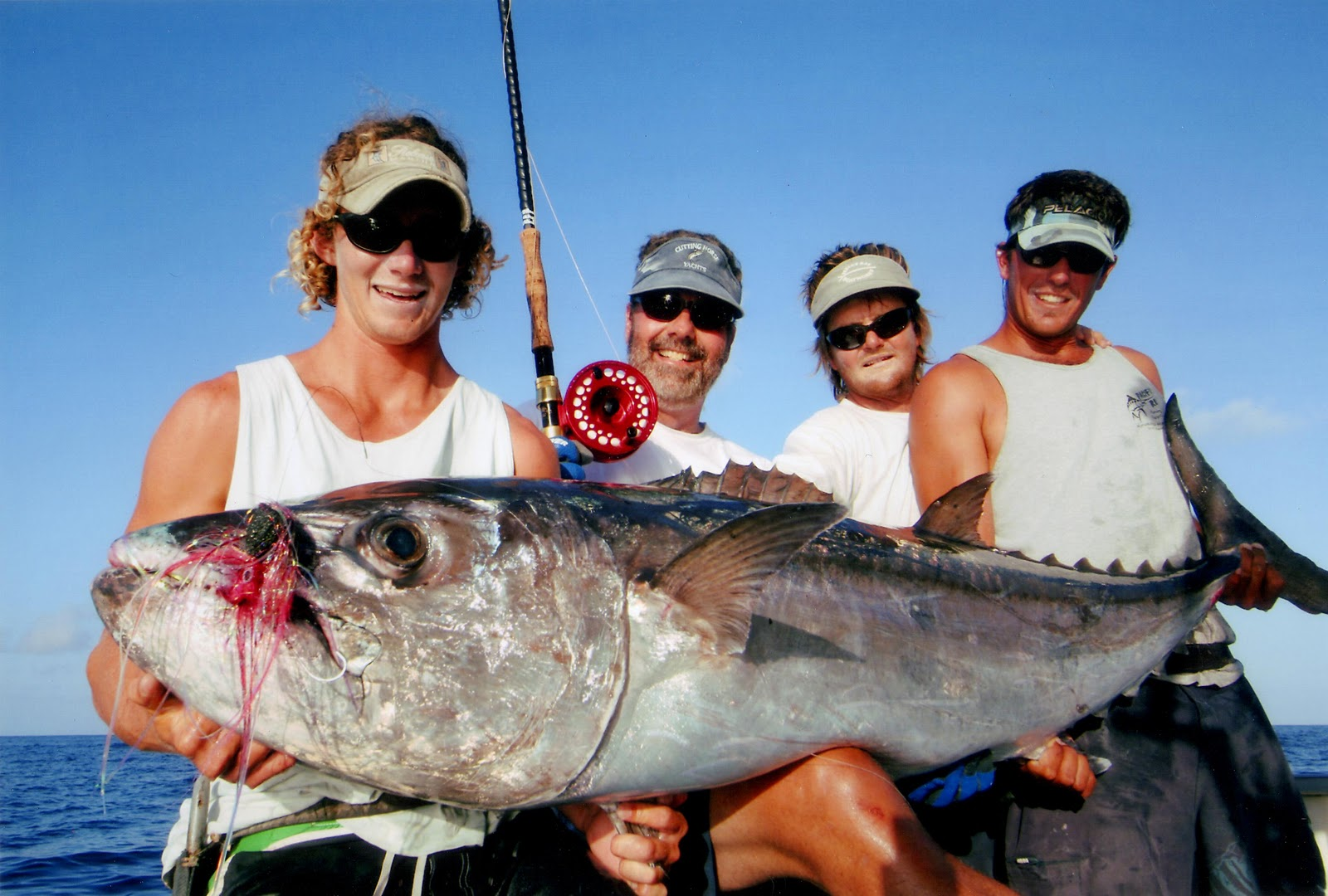 Big fishes of the world tuna dogtooth gymnosarda unicolor for Best fishing in the world
