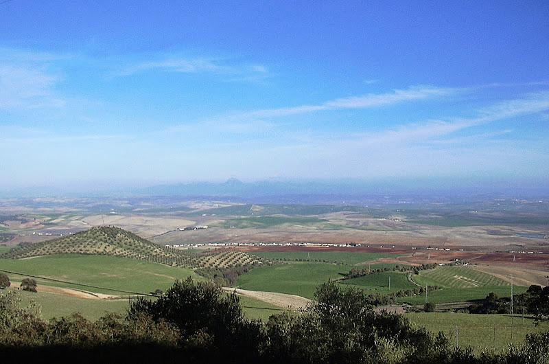 Vista desde la torre de Gibalbín