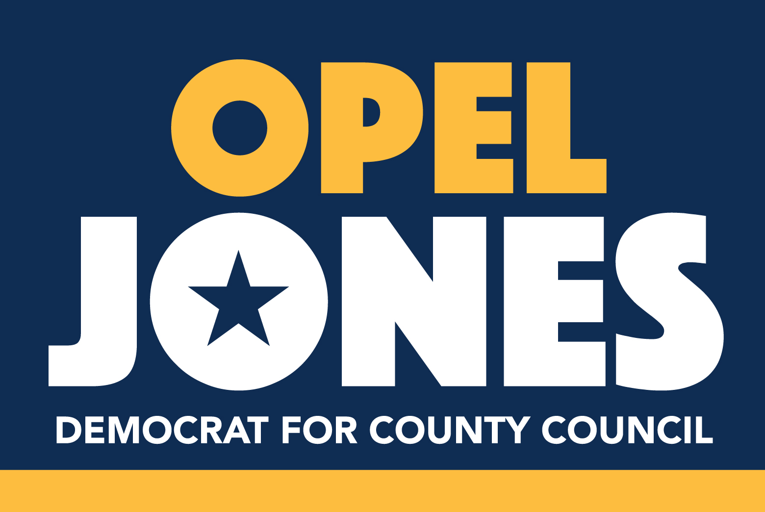 Opel Jones for Howard County Council 2