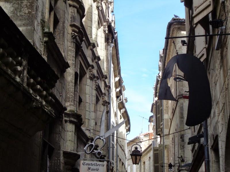 Perigueux, Rue Limogenes, France