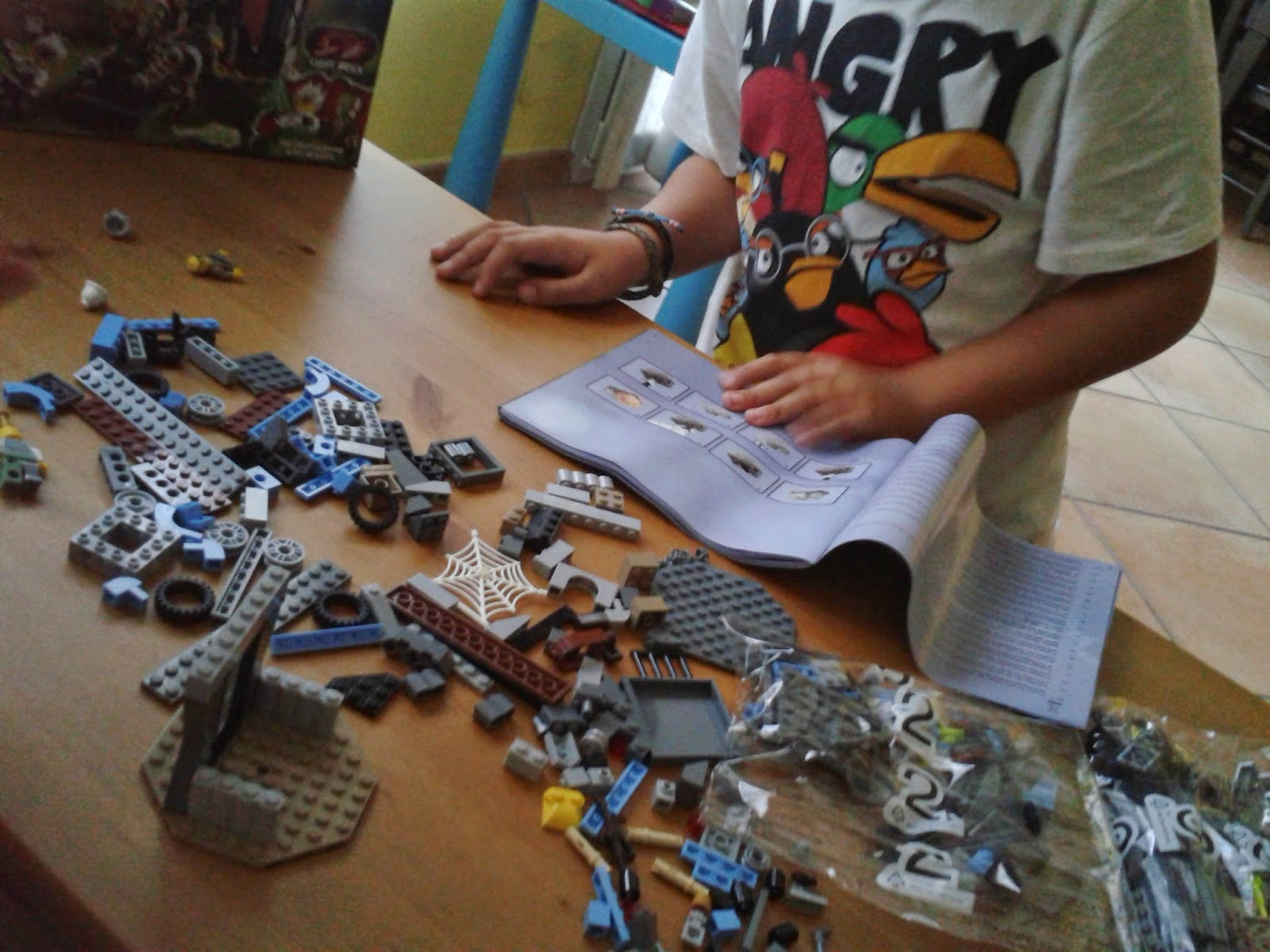 niños frío lego contruir crear creativo