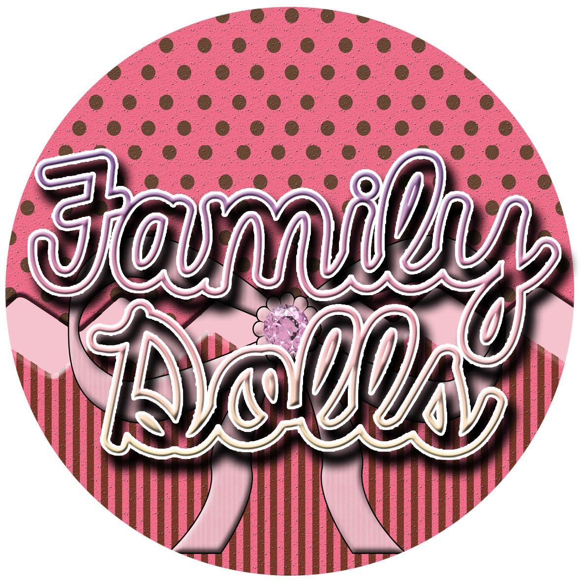 Family Dolls Trabalhos Digitais