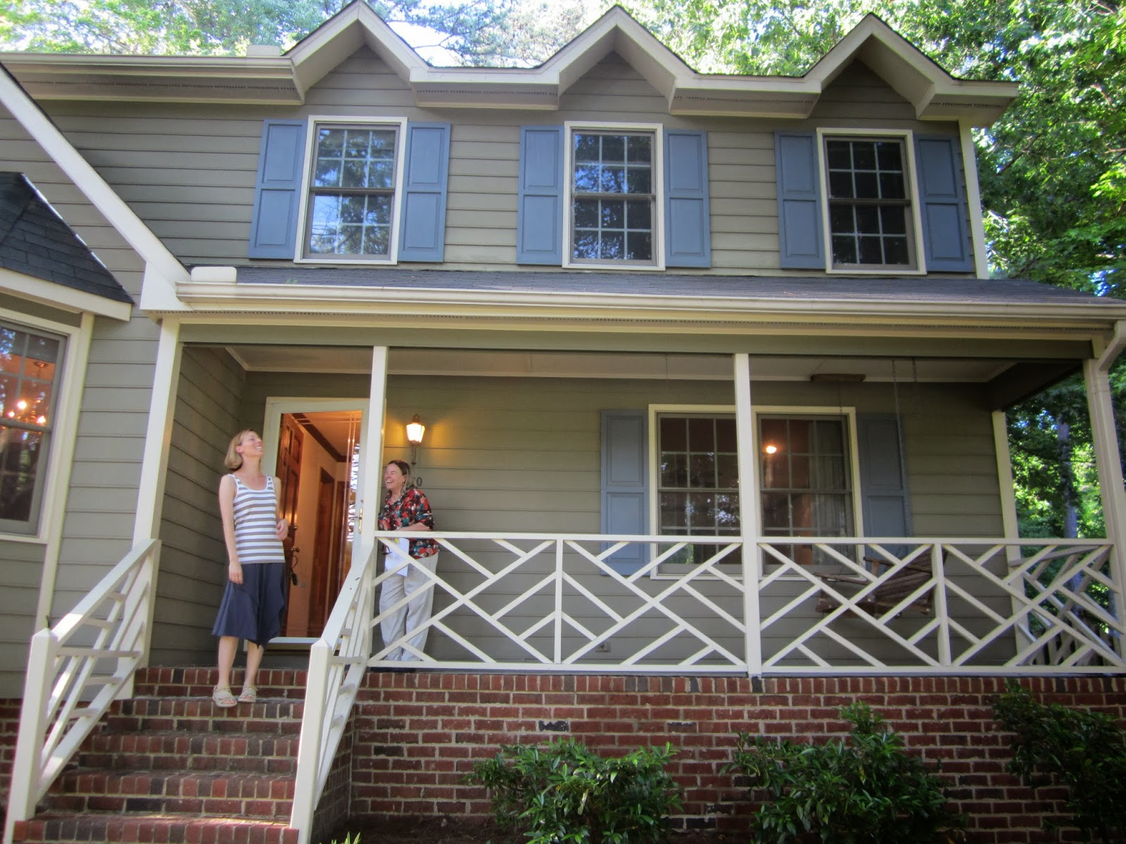 The Amberican Dream From Bland To Bold Exterior Paint
