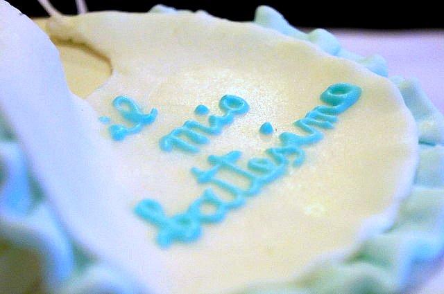 torta per un battesimo speciale