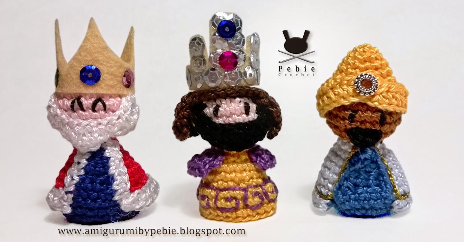 Amigurumi Nativity Free Pattern : Funny Amigurumi by Pebie: New free pattern. Nativity set ...