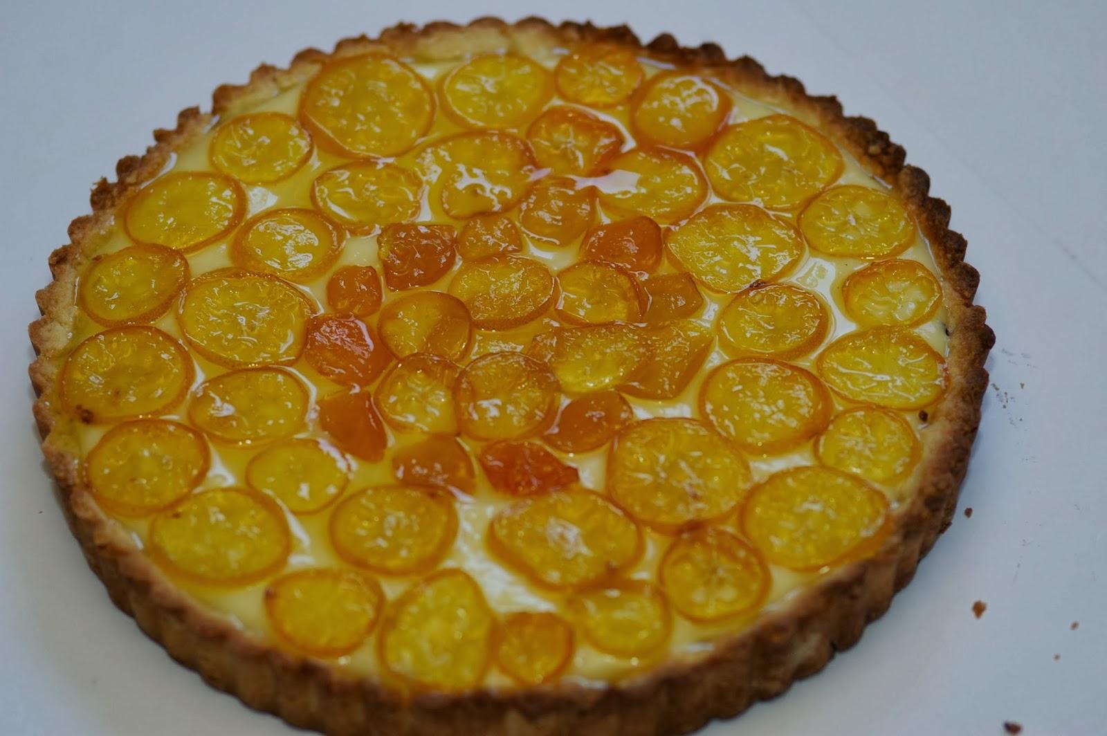 Vita: Candied Kumquat Tart