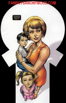 Punisher's family wife Maria Castle children Lisa and David