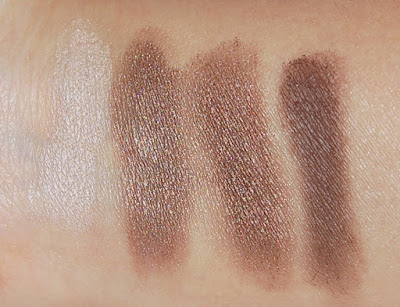 Elf Essential Flawless Eyeshadow Palette in Tantalizing Taupe Swatches
