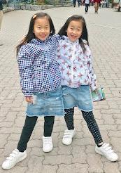 双子の娘たち