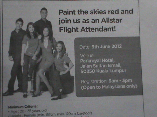 Cabin Crew Interview 2012 Air Asia Cabin Crew Interview