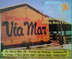 Divulgação:Restaurante Via Mar